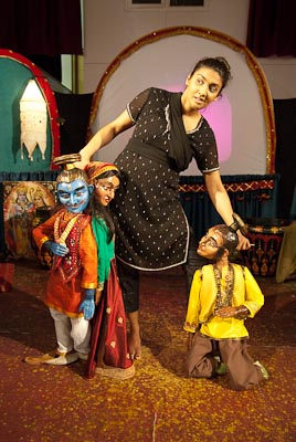 Performing in 'Discovering the Ramayana' 2010 - http://www.thefetch.co.uk/index.php