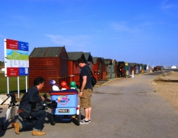 Behind the scenes filming on 'Same Smile' 2010