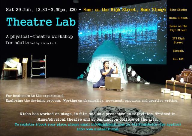 Theatre Lab e-flyer June